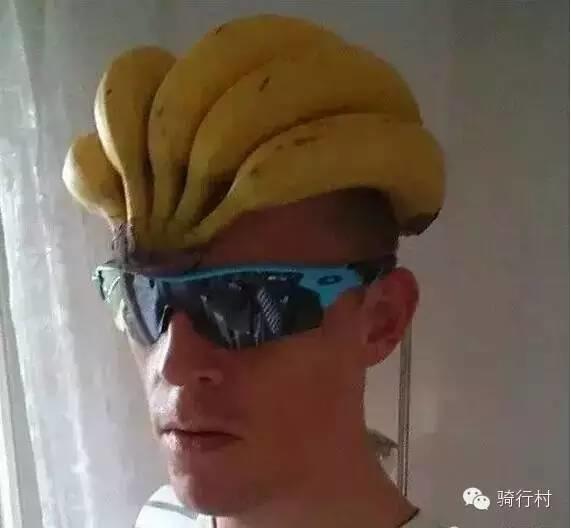 骑车还带这么多香蕉,妹子你到底想干啥?